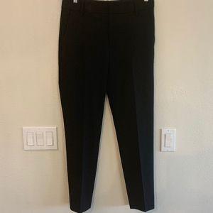 VINCE Flat Front Crop Trousers Size 6